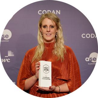 Årets Kvindelige Iværksætter 2016: Lisa Dalsgaard, GoodiePack