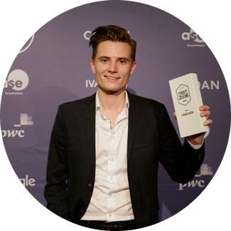 Årets Unge Håb 2016: Mads Andreas Olesen, Blue Energy