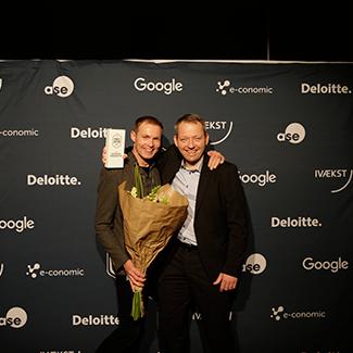 Årets Gukdkantsiværksætter 2015: Thomas Henriksen & Peter Mortensen, eGastro