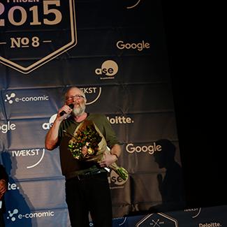 Årets Jurypris 2015: Peter Aalbæk Jensen